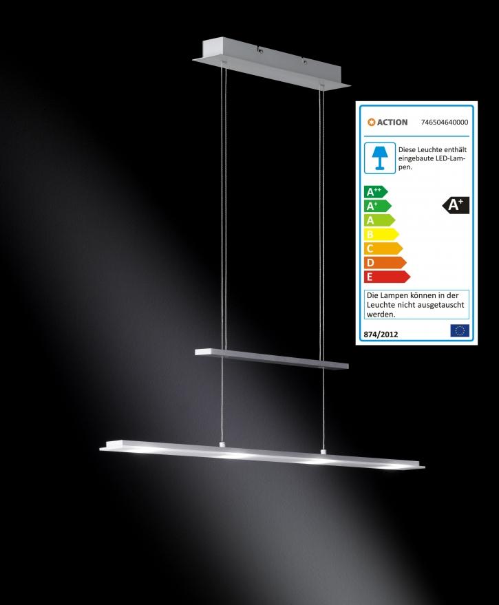 action wofi led pendellampe alva pendelleuchte lampe leuchte deckenlampe messe12 ebay. Black Bedroom Furniture Sets. Home Design Ideas